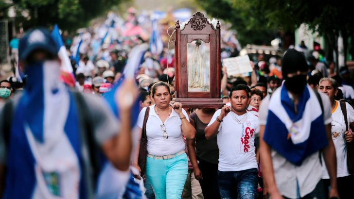 Nicaragua's Church trapped in the middle of climate of fear