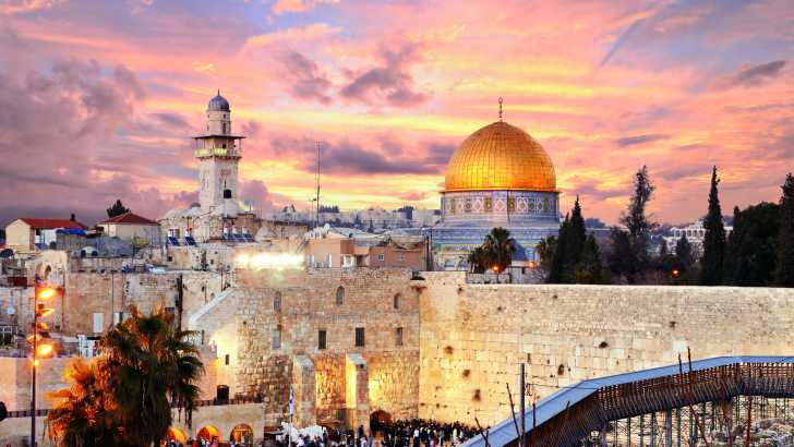 A dream becomes reality as the Holy Land offers time to recharge