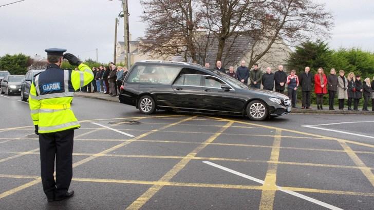 Heart-breaking funeral for hero Dawn