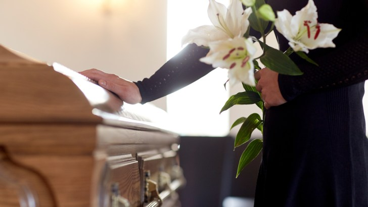 Funerals make us face our own mortality