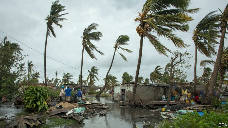 Church agencies support thousands after killer cyclone