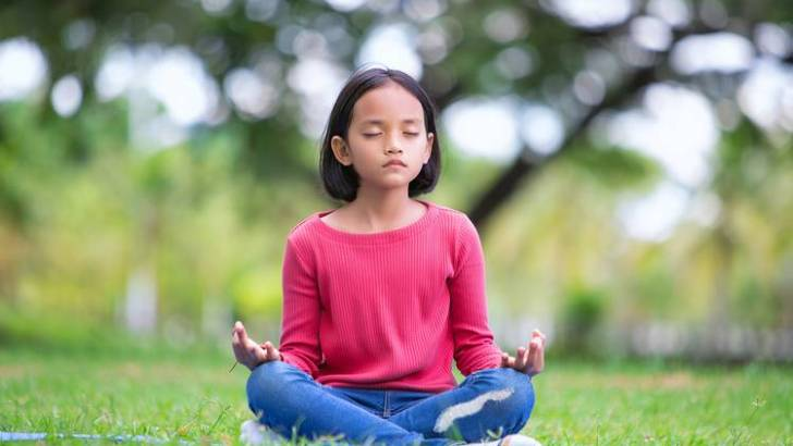 Meditation can be child's play