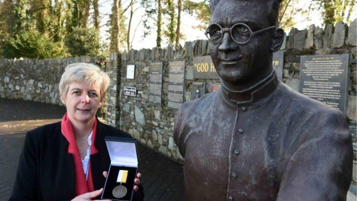 Irish nun receives global courage award