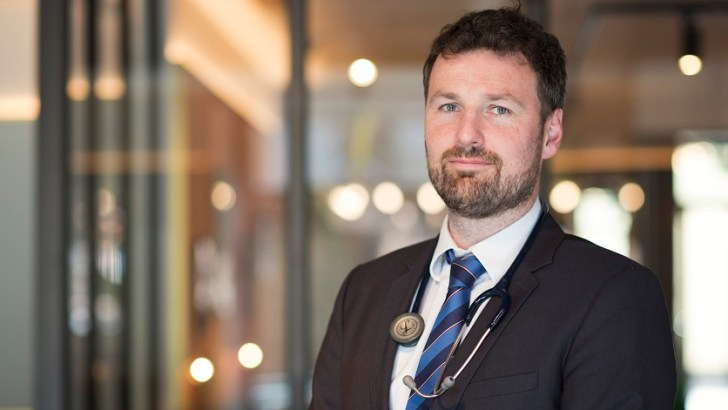 Fighting for life as an Irish doctor