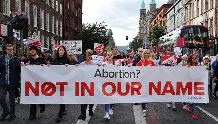 Westminster's abortion move undermines peace process