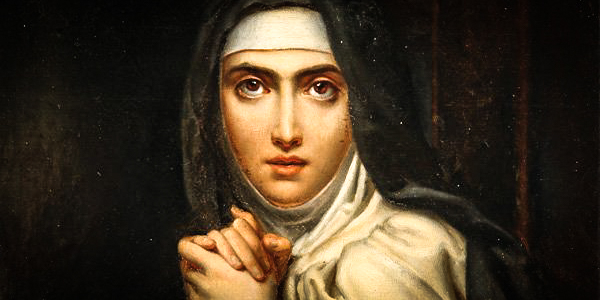 The making of a saint – in her own words