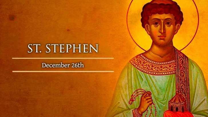 St Stephen reminds us that Christians continue to suffer for the Faith