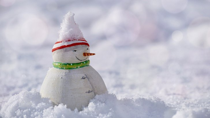 Avoid the cold weather and make your own DIY snow
