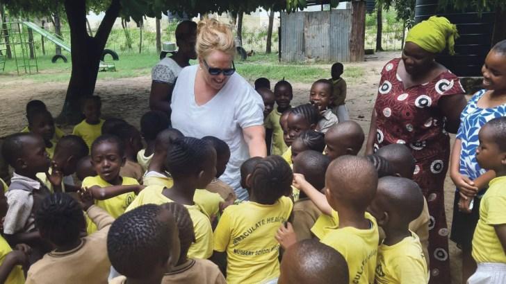 A modern saint: Olive's work in Kenya