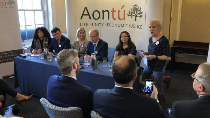 Aontú calls on voters to think outside 'political cartel'