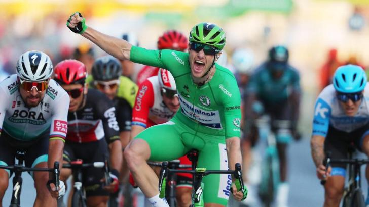 Bennett's green jersey win 'thrills' local parish