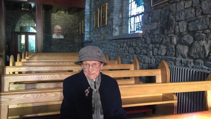 106-year-old Nancy Stewart offers world her precious wisdom