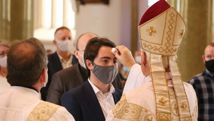 Becoming closer to God with Catholic initiation