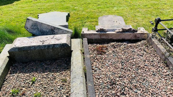 Bishop slams 'senseless antisemitic vandalism' of Belfast Jewish graves