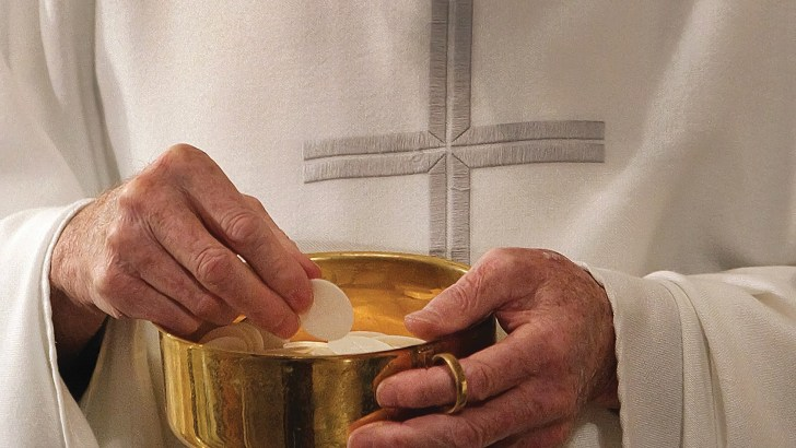 Time for the Church here to address 'eucharistic coherence'