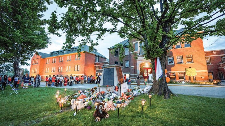 Church in Canada pledges funds for healing, after residential schools