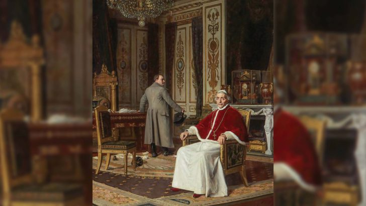 The Pope, Napoleon and the struggle between Church and State