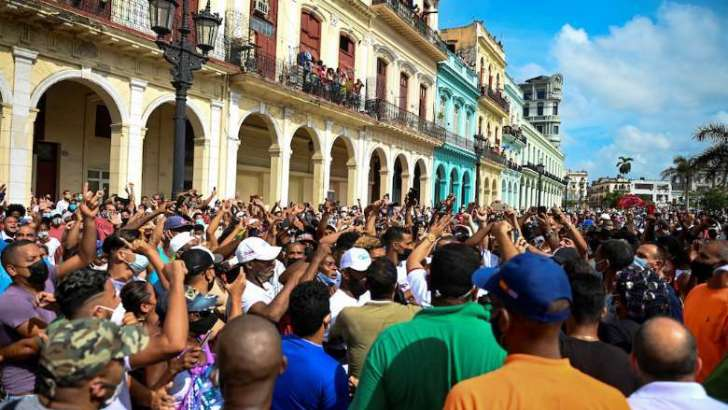 Christian Movement calls for free elections amid protests in Cuba