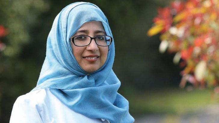 A Muslim woman defends the Taliban…