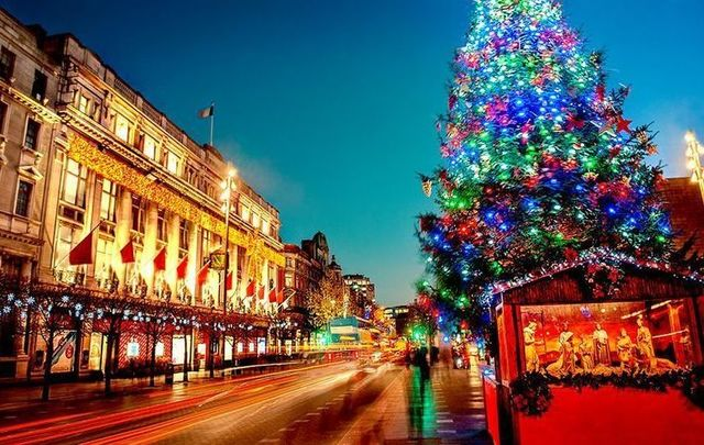 Image result for Dublin, Ireland christmas