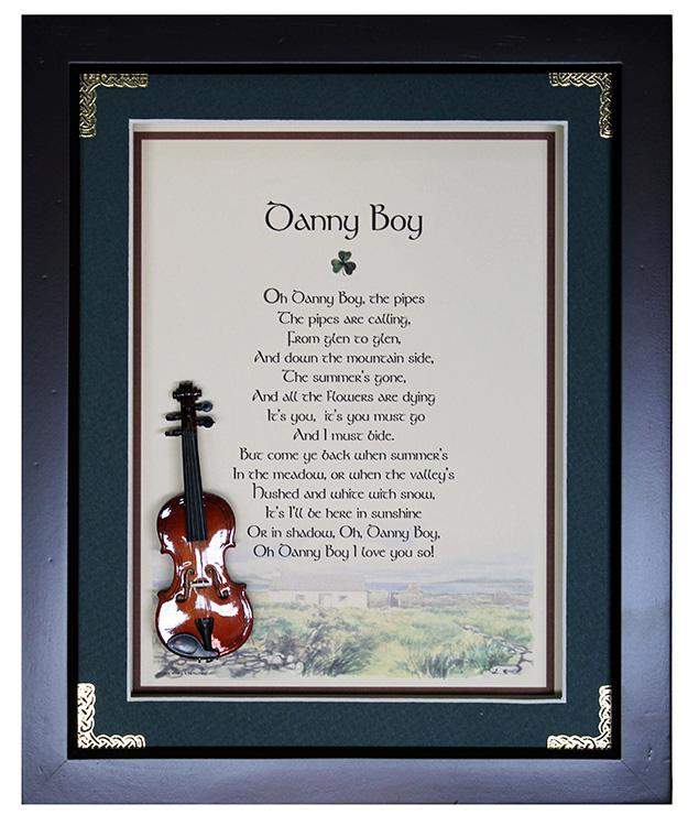 Danny Boy Music Box 8 X 10
