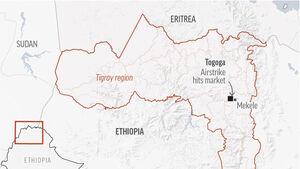 Airstrike in Ethiopia's Tigray region kills dozens, say witnesses