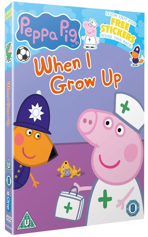 """DVD Review: """"Peppa Pig: When I Grow Up"""" is Uninspired But"""
