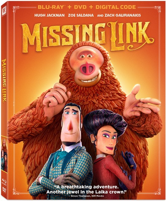 """Win """"Missing Link"""" On Blu-rayWin """"Missing Link"""" On Blu-ray"""