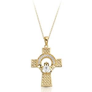 Claddagh Cross-C126