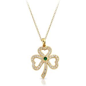 9ct Gold Celtic Pendant-P019