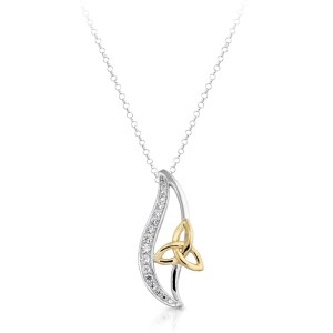 9ct Gold Celtic Pendant-P011