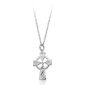 Silver Celtic Cross-SC113