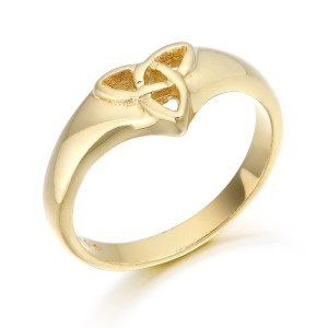 9ct Gold Celtic Ring-3237