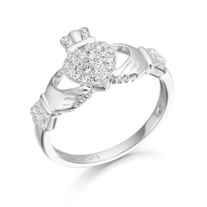 Silver Claddagh Ring-SCL39