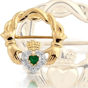 Claddagh Brooches