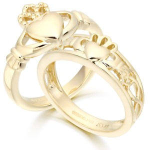 Plain Claddagh Rings