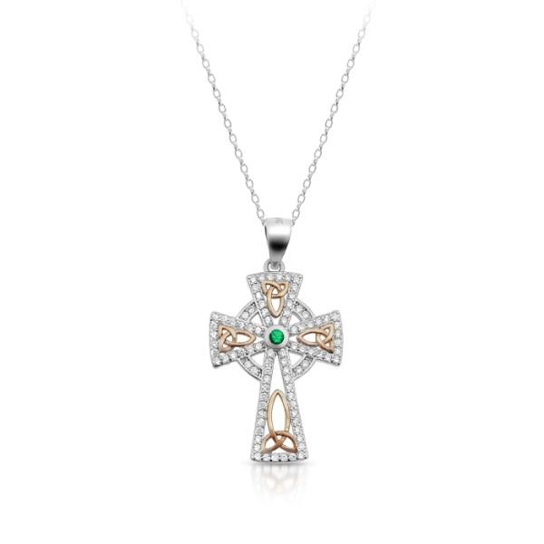 Silver Celtic Cross-SC81