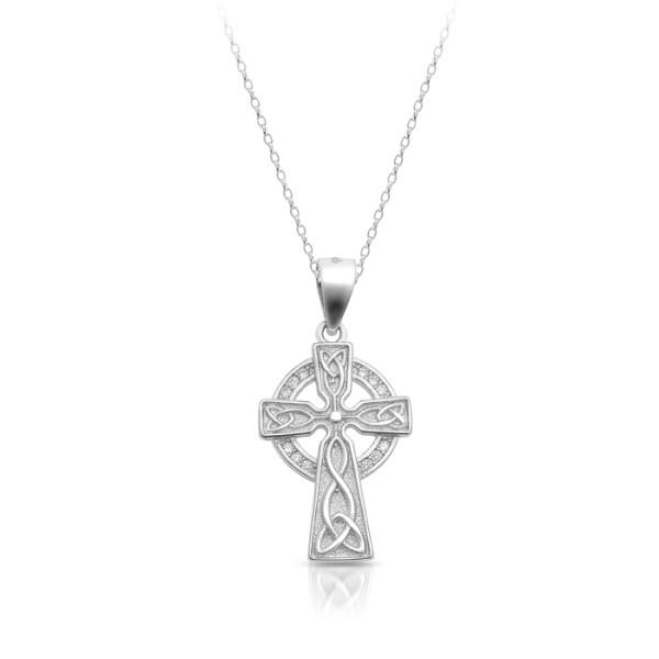 Silver Celtic Cross-SC83
