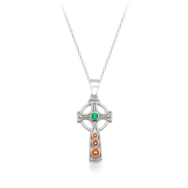 Silver Celtic Cross-SC85