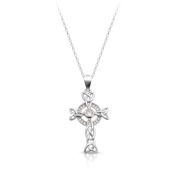 Silver Celtic Cross-SC87