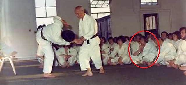 Ohtsuka Sensei Birmingham early '70s at Peter Suzuki's dojo.