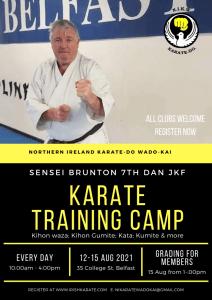 Karate Training Camp Sensei Brunton