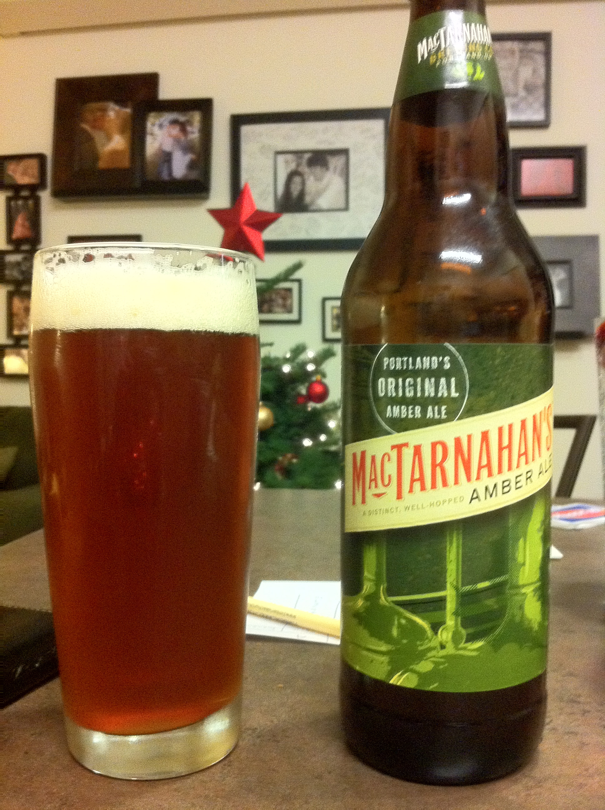Brewbeat NW – MacTarnahan's Amber Ale from Portland, OR