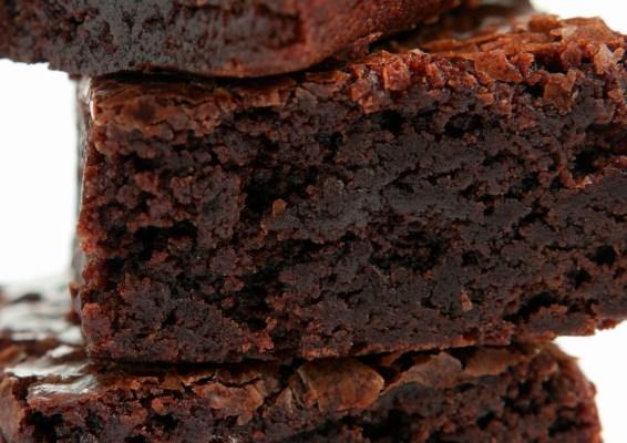 Fudgy Firebird Brownies