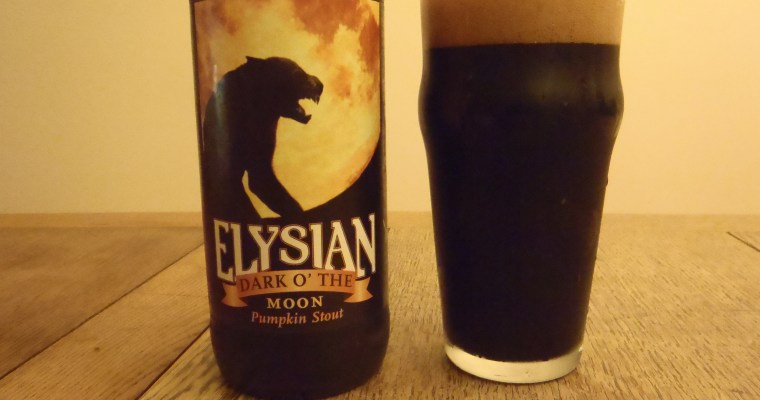 Elysian Dark o' the Moon Pumpkin Stout