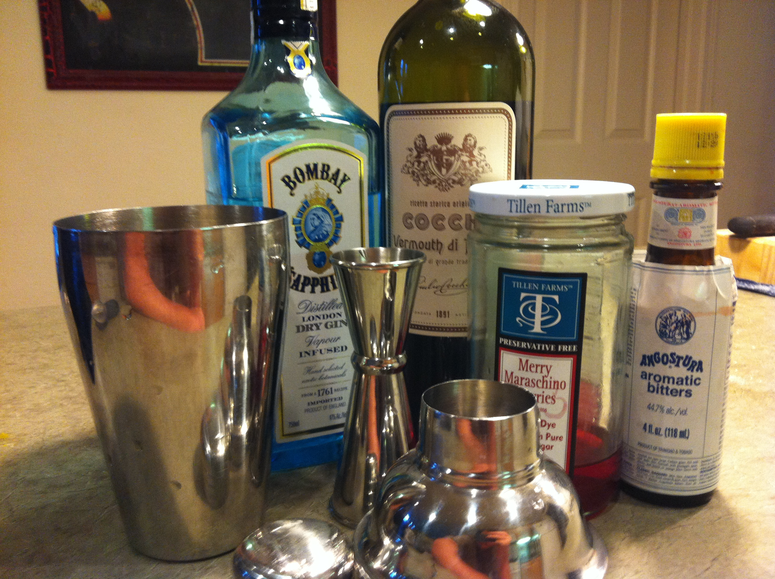 Friday Happy Hour: The Martinez