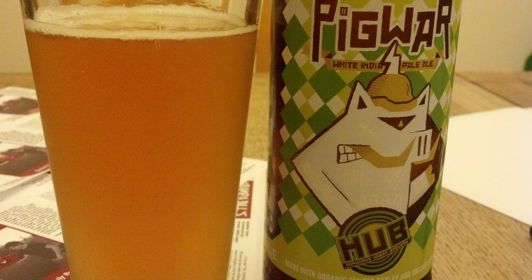 Friday Happy Hour – HUB's Pigwar White India Pale Ale
