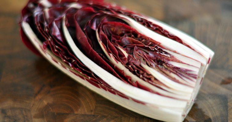 Grilled Radicchio Arugula Salad