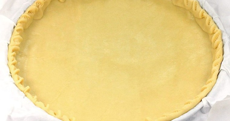 Basic Pie Dough – Pate Brisee