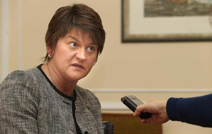 Image result for arlene foster looking angry